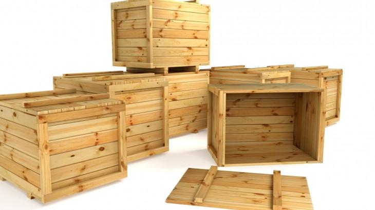 imballaggi industriali in legno