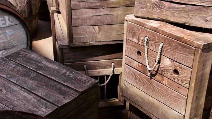 Scatole di legno su misura